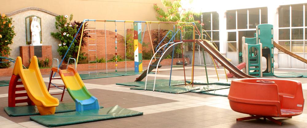 Colegio sagrado Corazón de Belgrano_patio jardin infantes