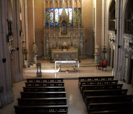capilla colegio esclavas del sagrado corazon