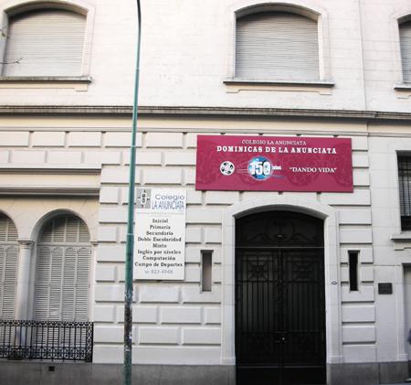 Colegio Dominicas de la Anunciata_Recoleta