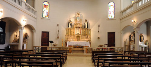 capilla colegio dominicas de la anunciata
