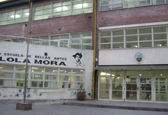 escuela de bellas artes Lola Mora