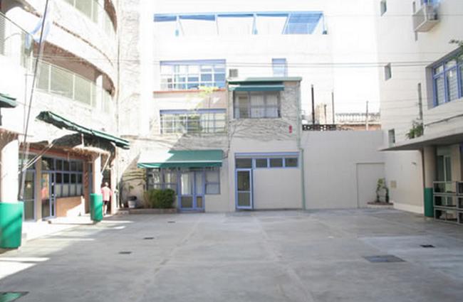 Escuela jacarandá_patio interno