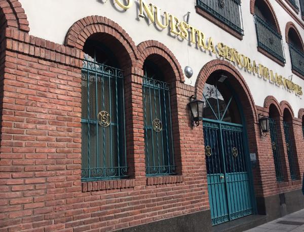 Instituto Nuestra seños de las Nieves_ barrio de LINIERS