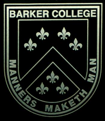 Barker college_escudo