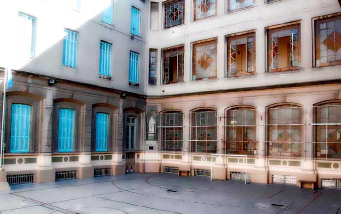 Colegio del Carmen_patio
