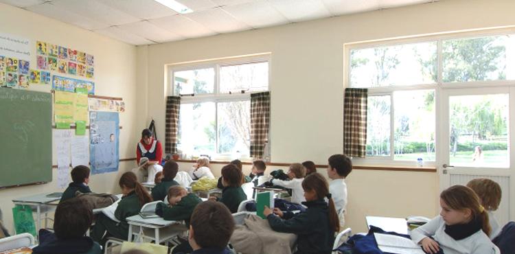 Colegio Patris_en La Plata-aula
