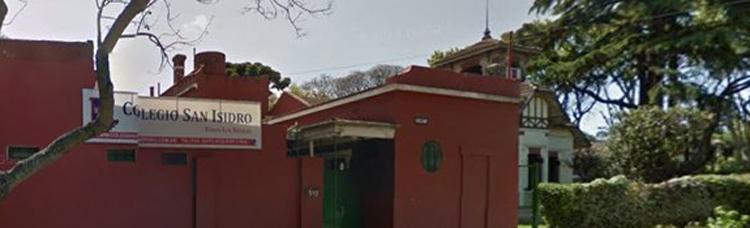 Colegio San isidro_edificio frente_en san Isidro