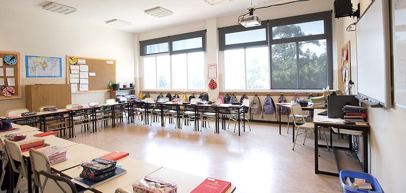 St George's College_en Quilmes_primario_aulas