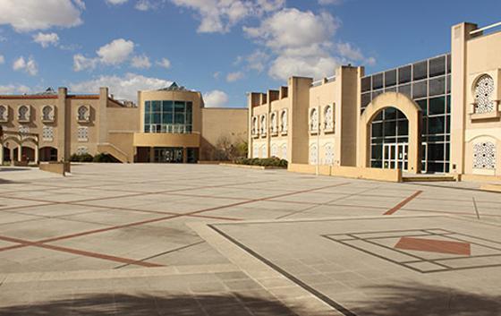 Colegio Rey Fahd_en Palermo_patio interno