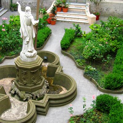Colegio Santa Felicitas de San Vicente de Paul_en Barracas_interior