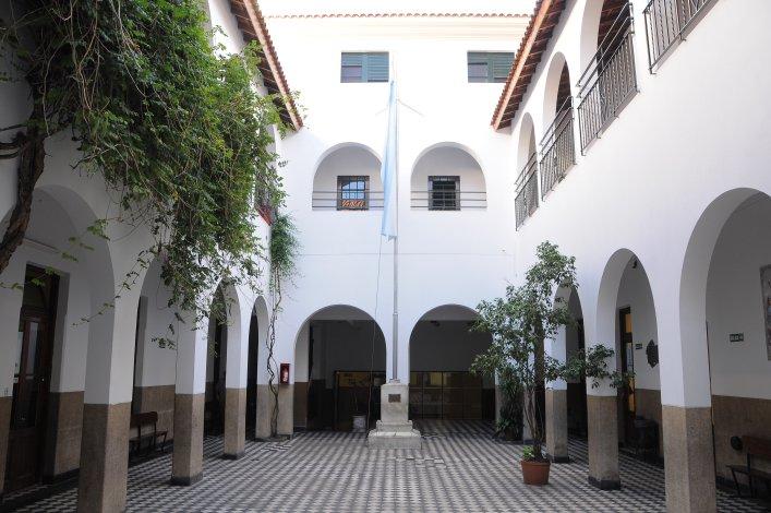 Colegio Santo Domingo_en Ramos Mejía_2_patio-interior