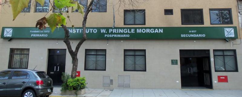 Instituto Pringle Morgan_edificio-entrada_en barrio de Palermo