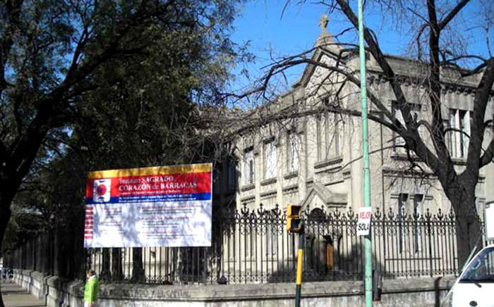 Instituto Sagrado Corazón de Barracas-edificio