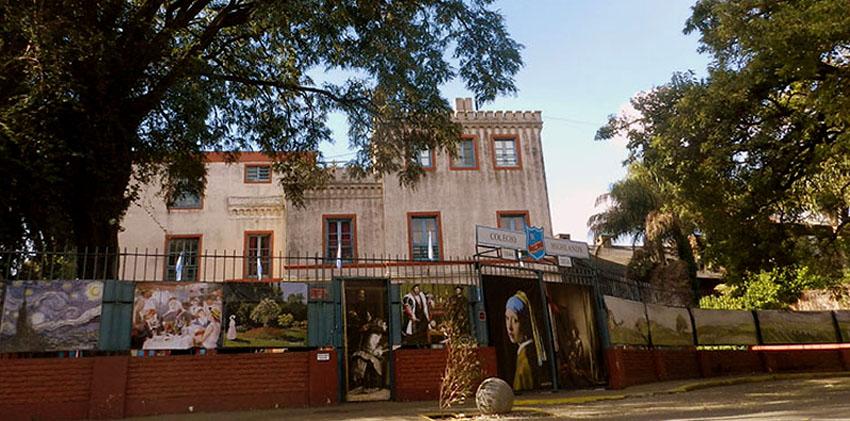 colegio Highlands-en- Vicente López_entrada edificio