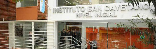 Instituto Parroquial San Cayetano 1