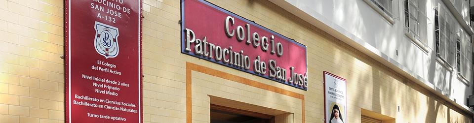 instituto patrocinio de san josé_frente edificio_en colegiales