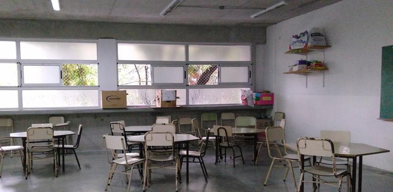 Colegio Baldomero Fernandez Moreno-aula