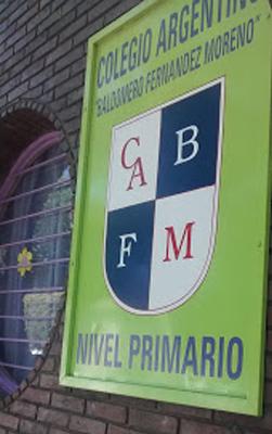 Colegio Baldomero Fernandez Moreno-edificio frente