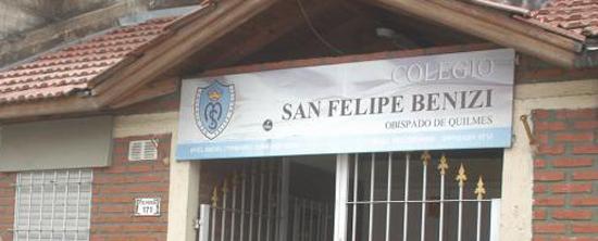 colegio San Felipe Benizi_en Quilmes
