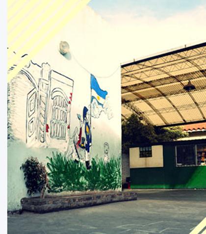 colegio del Alto Sol_en Bernal oeste