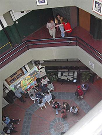 Colegio Palermo Sounder-interior