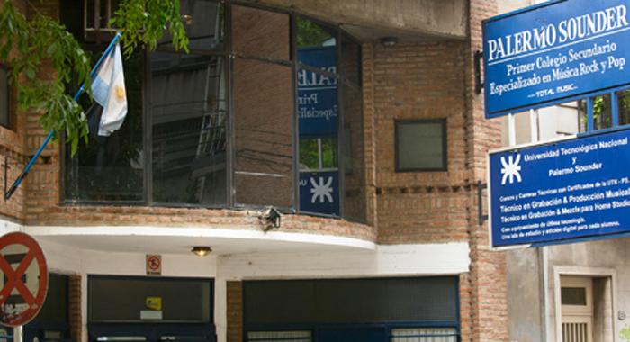 Colegio Palermo Sounder_frente edificio
