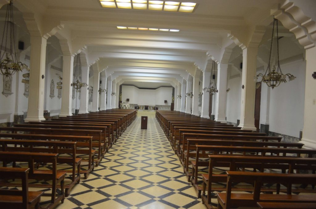 Escuela salesiana Don Bosco_capilla