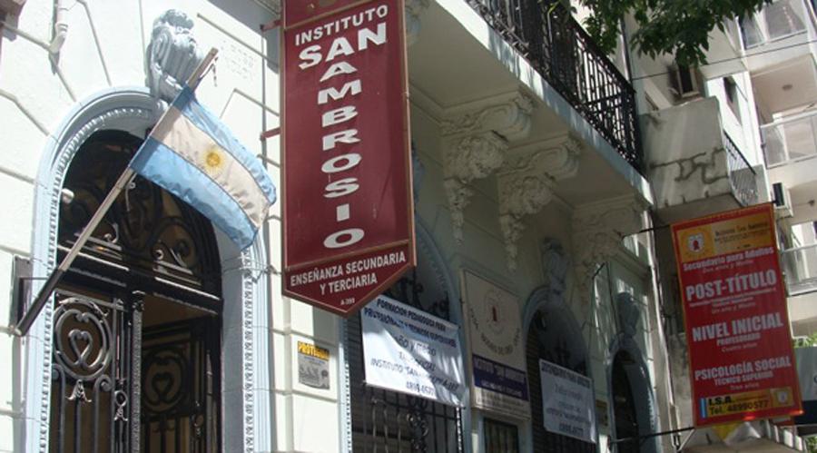 Instituto San Ambrosio_en barrio de Palermo