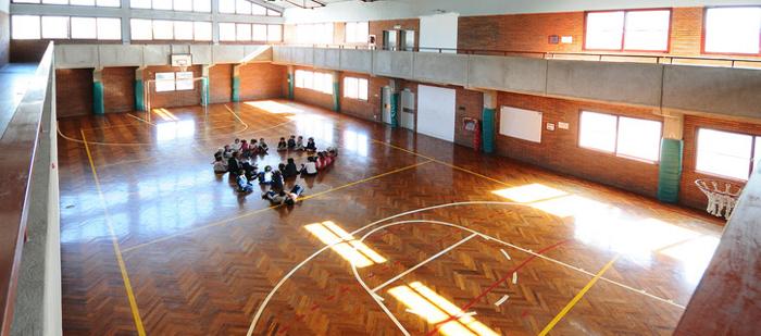 Instituto San Gregorio El Iluminador_gimnasio
