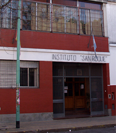 Instituto San Roque_en barrio de Colegiales_edificio