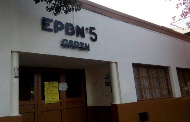"""Escuela EGB nro 5 """"Hipólito Yrigoyen"""" de Garin 1"""