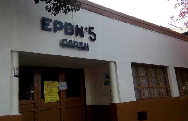 """Escuela EGB nro 5 """"Hipólito Yrigoyen"""" de Garin 2"""