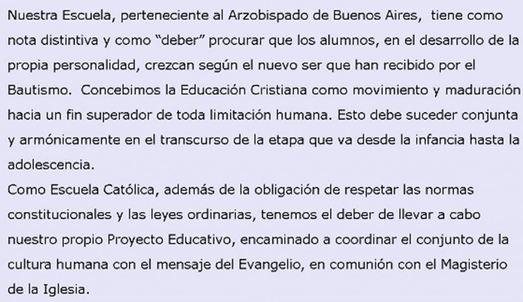"""Colegio Nuestra Señora de la Anunciación (""""San Alfonso"""") 4"""