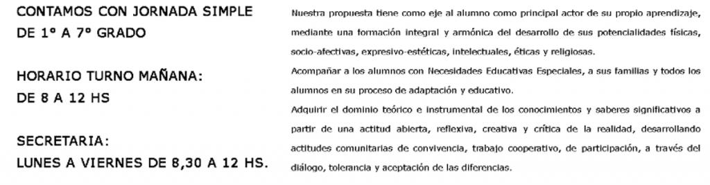 """Colegio Nuestra Señora de la Anunciación (""""San Alfonso"""") 8"""