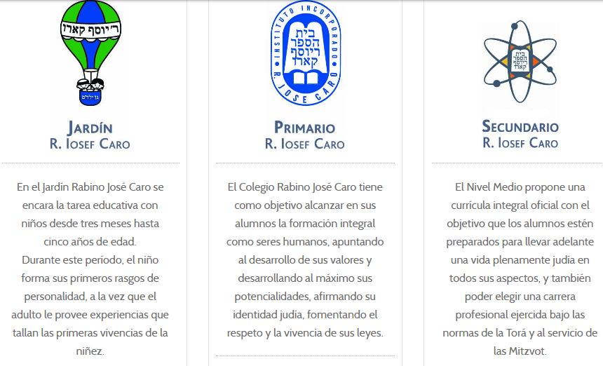 Colegio Rabino José Caro 4