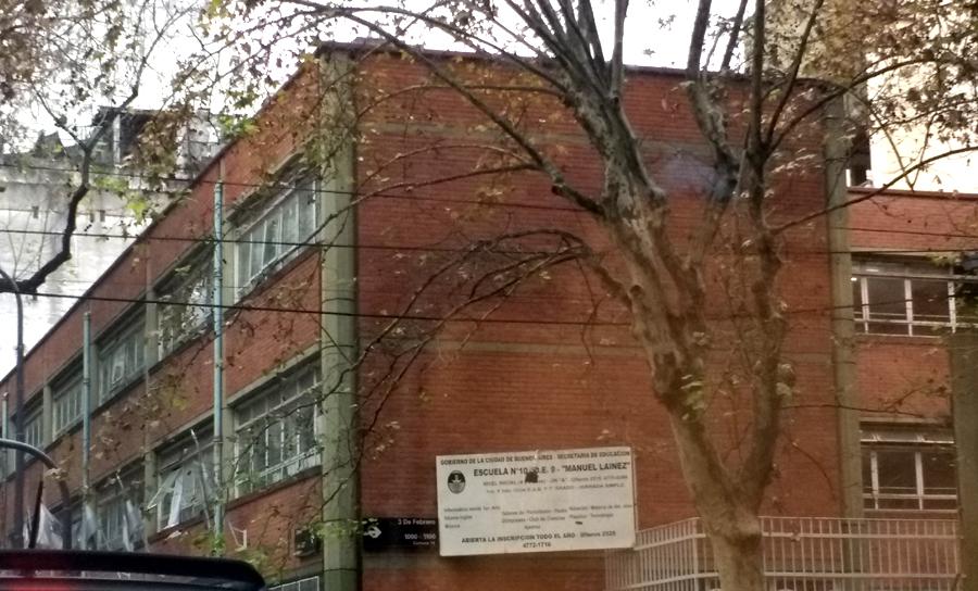 Listado de Escuelas Públicas en Belgrano y Nuñez 2