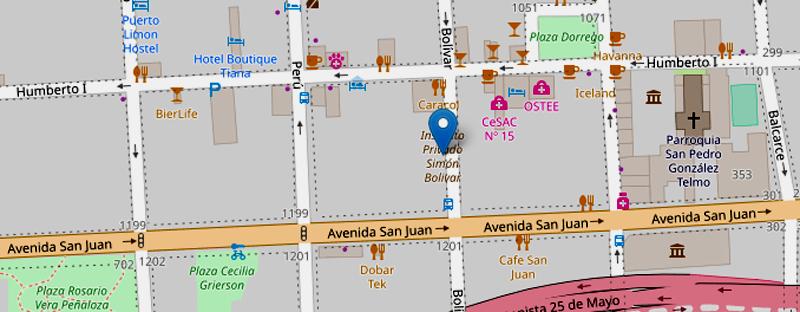 Listado de colegios privados en Puerto Madero, Retiro, Constitución, Montserrat y San Telmo 8