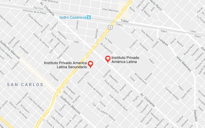 Instituto privado América Latina 2