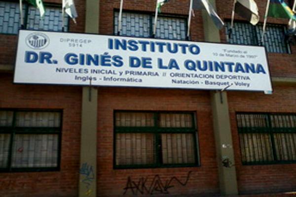 Colegio Dr. Ginés de la Quintana 38
