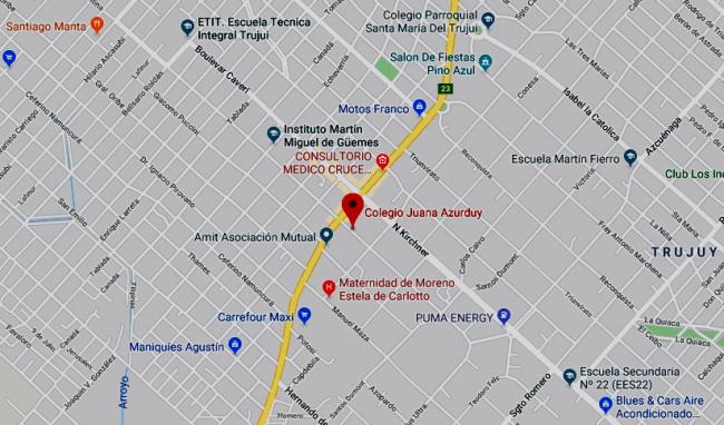Colegio Juana Azurduy 36