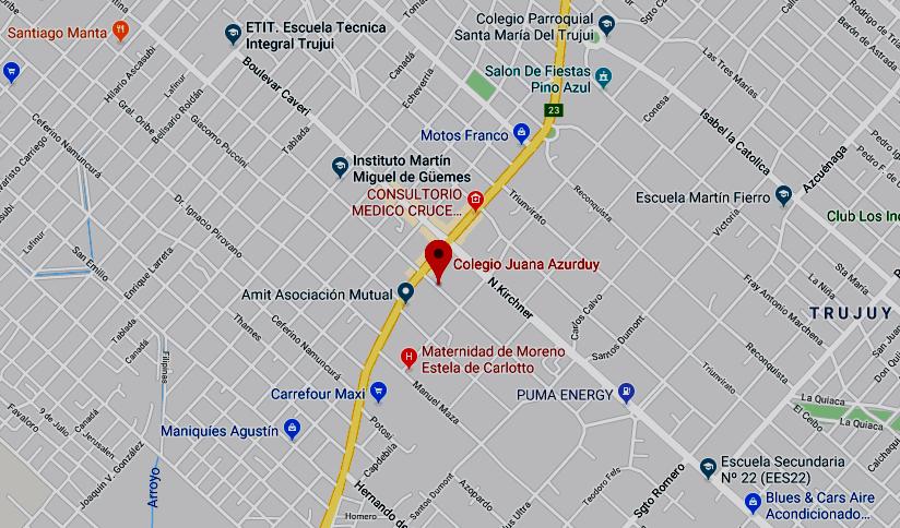 Listado de colegios privados en Moreno 28