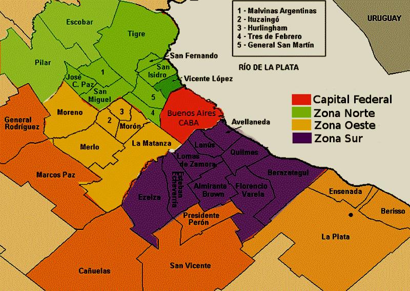 Las zonas de Buenos Aires con mayor cantidad de escuelas y colegios 2