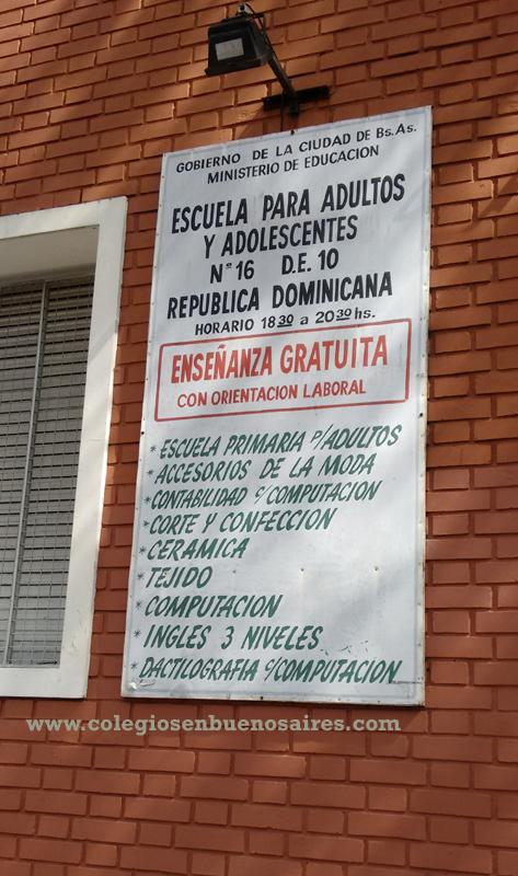 """Escuela nro 16 de 10 """"República Dominicana"""" 3"""
