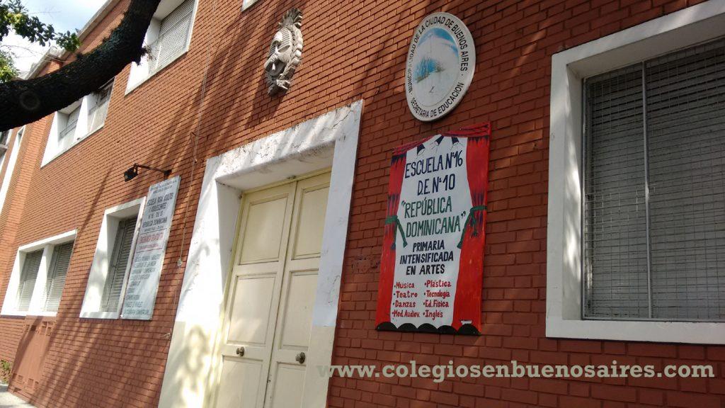 Listado de Escuelas Públicas en Belgrano y Nuñez 3