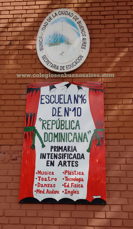 """Escuela nro 16 de 10 """"República Dominicana"""" 2"""