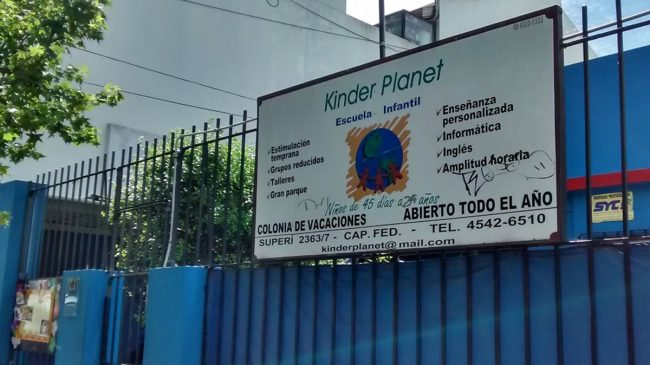 Jardin Infantil Kinder Planet 6