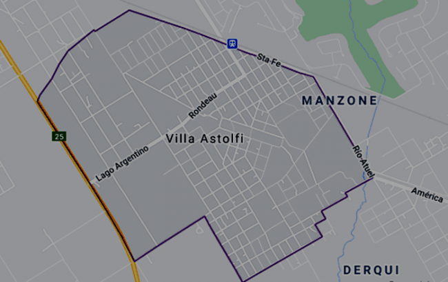 Listado de colegios privados en Villa Astolfi 1