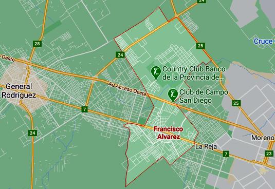 Listado de colegios privados en Francisco Álvarez 61