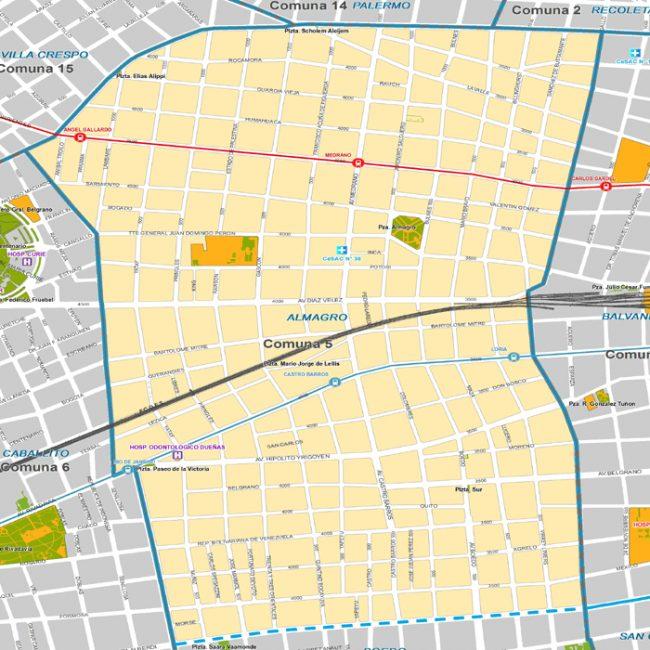 Listado de colegios privados en el barrio de Almagro 8