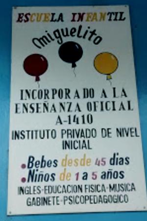 Escuela infantil Miguelito 2